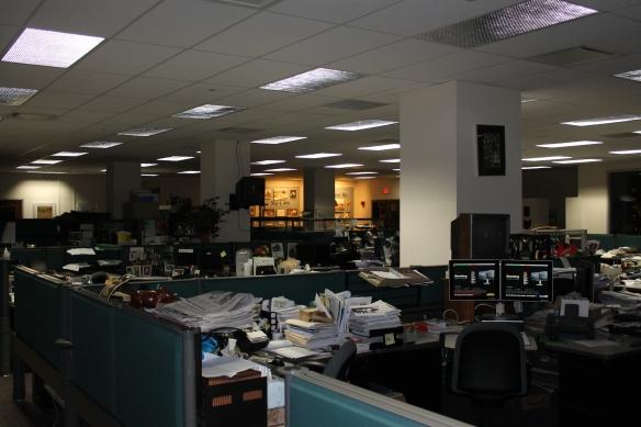 Akron Beacon Journal newsroom, 2013