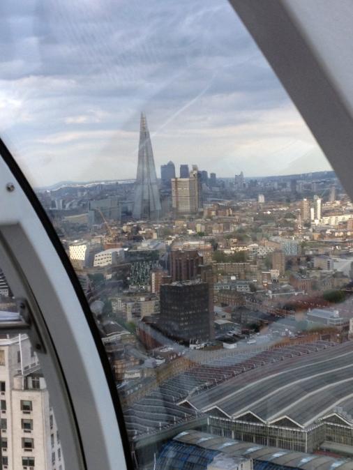London Eye looking southeast