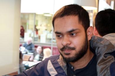 Journalist Kamil Ahmed