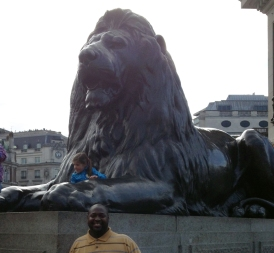 Turner in Trafalgar Square